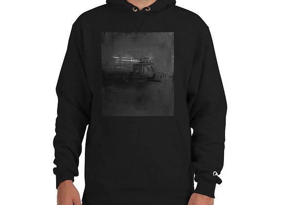 Ferry Boat Print Champion Hoodie