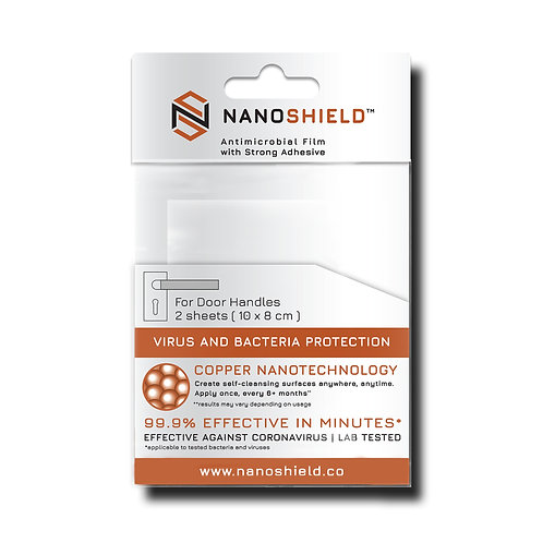 Nanoshield Film for Door Handles