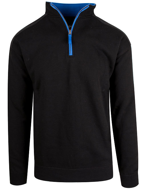 Valdez unisex zip sweat