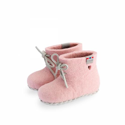 TOVA baby tøffel rosa