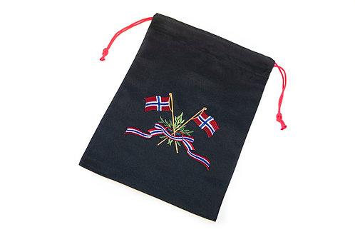 Skopose m/flagg uten navn