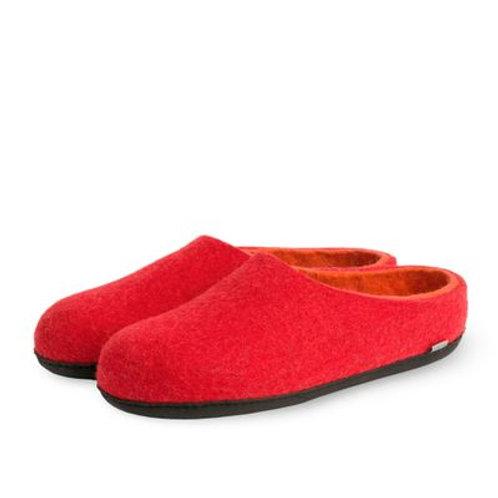 TOVA slipper x-rød