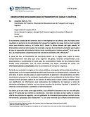 Observatorio Mesoamericano de Transporte de Carga y Logística