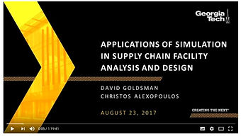 Aplicación de Simulaciones en las Instalaciones de Cadena de Suministro: Análisis y Diseño