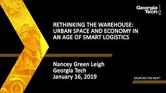 Repensando la Bodega: Espacio y Economía Urbanos en una Era de Logística Inteligente