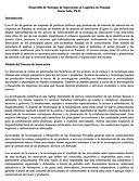 Desarrollo de Sistemas de Innovación en Logística en Panamá