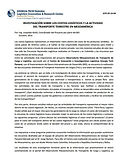 Investigación Sobre los Costos Logísticos y la Actividad del Transporte Terrestre en Mesoamérica