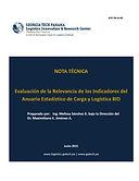 Evaluación de la Relevancia de los Indicadores del Anuario Estadístico de Carga y Logística BID