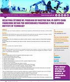 Flyer Programa de Maestría Dual SENACYT