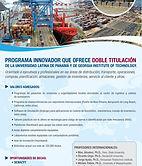 Flyer Programa de Maestría Dual Universidad Latina de Panamá