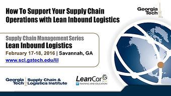 Cómo Apoyar las Operaciones de su Cadena de Suministro con logística de Entradas Lean
