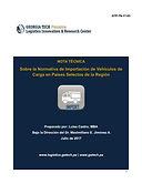 Sobre la Normativa de Importación de Vehículos de Carga en Países Selectos de la Región