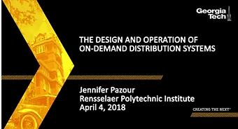 Diseño y Operación de Sistemas de Distribución bajo Demanda