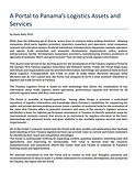 Un Portal de Activos y Servicios de Logísticos de Panamá