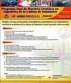 Flyer Programa de Maestría Dual Universidad Tecnológica de Panamá