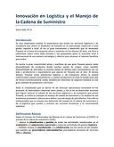 Innovación en Logística y el Manejo de la Cadena de Suministro