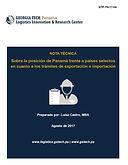 Sobre la Posición de Panamá Frente a Países Selectos en cuanto a los Trámites de Exportación e Importación