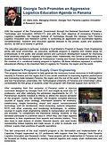 Georgia Tech Impulsa Agresiva Agenda de Educación en Logística en Panamá