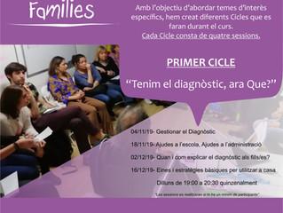 Ens complau informar-vos que durant aquest curs 2019-2020 oferim el taller de Grup de families.