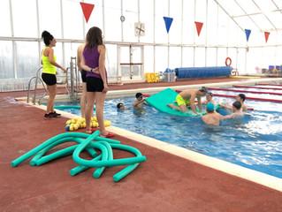 Aquest dissabte els adolescents hem anat al Complex Esportiu de Valldoreix a fer una mica de spinnin