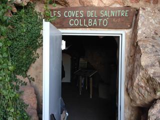 Aquest dissabte el Punt Jove ha anat a visitar les Coves del Salnitre de Collbató! Expectaculars!