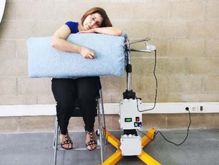 Una maquina de abrazos para las personas con autismo