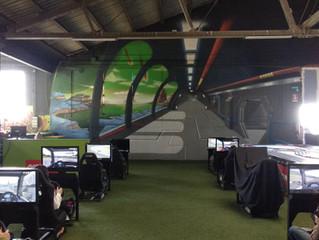 Aquest cap de setmana els Mitjans hem anat al Green indoor park i ens ho hem passat genial.