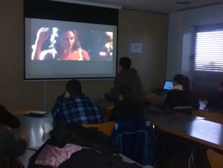 1,2,3...ACCIÓ! Avui els cavallers hem convertit l'esplai en una autèntica sessió de cine!