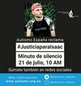 """Ola de solidaridad con la familia de Isaac, el rapero asesinado por """"tener síndrome de Asperger"""""""