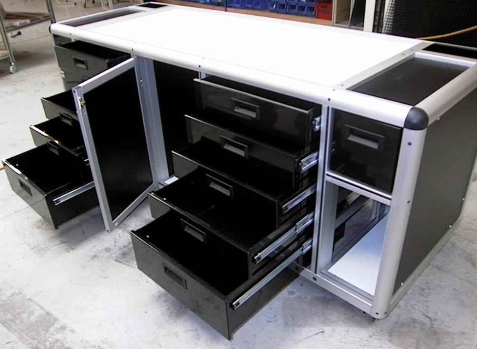 LMI Solutions, cabinets