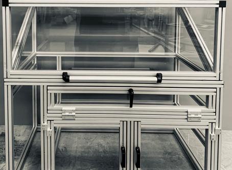 UV Lamp Test Cabinet