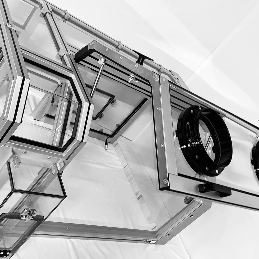 Glovebox Design by LMI Solutions. Wigan