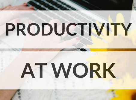 Are you a productive worker?