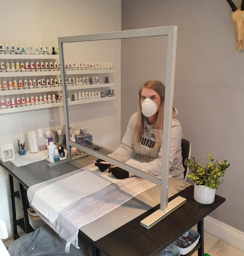 Screens For Beauty, Nails & Hairdressers