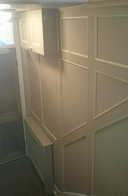Bespoke Floor to Ceiling Staricase Panelling