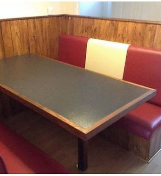 American Diner Style Booth