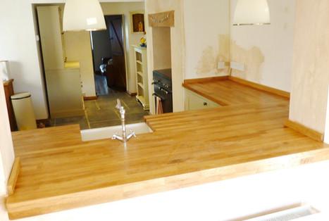 Bespoke Sink Unit & Wooden Worktop