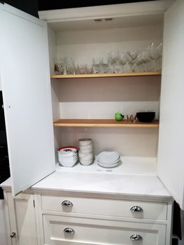 Interior of Kitchen Unit