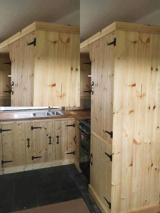 Handmade Wooden Kitchen Units
