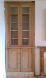 Alcove Unit Made with Recalimed Timber