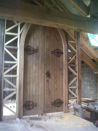 Refurbishment of Church Door