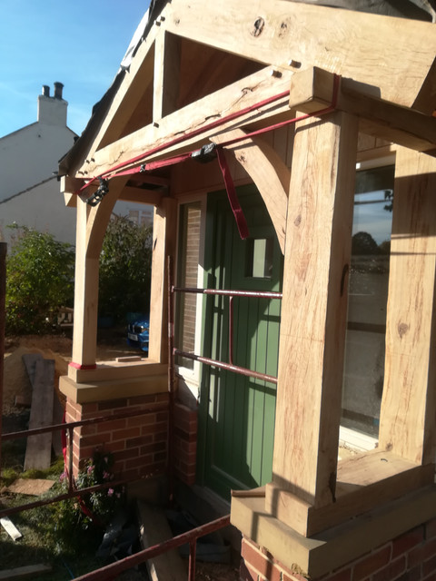 Bespoke Handmade Oak Porch