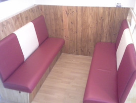 Bespoke American Diner Style Booth