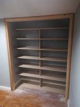 Bespoke Alove Shelving Unit