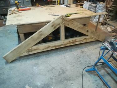 Hand Made Oake Porch
