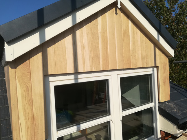 Window Oak Cladding