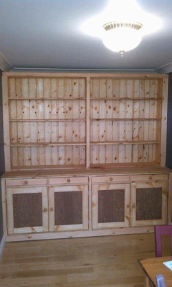 Bespoke Pine Shelving Unit