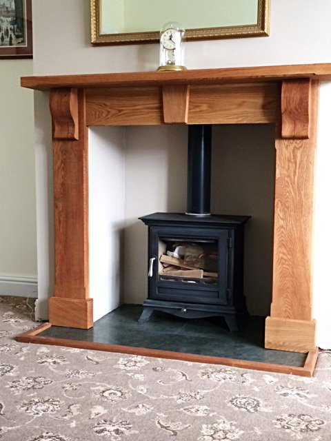 Bespoke Solid Wood Fire Surround
