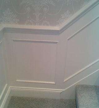 Bespoke Wall & Stair Panelling