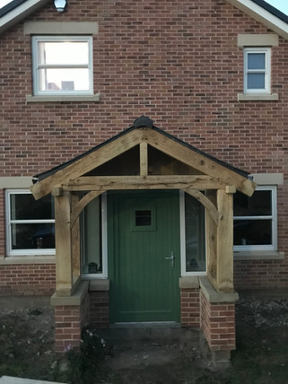 Bespoke Oak Porch